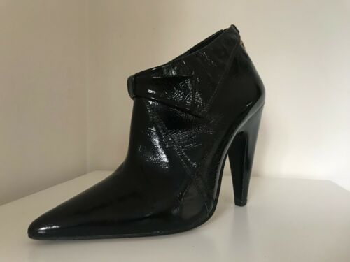 7 Peter Boot Bow eur Jensen Detail For Cone Leather Uk Patent Topshop Heel 40 grZngPqw