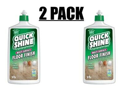 Lot Of 2 Holloway House Quick Shine Multi Surface Floor Finish