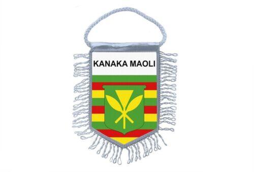 club flag mini country flag car decoration hawaii kanaka maoli