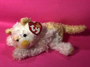 Ty Beanie Baby SAFFRON - the Cat