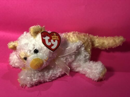 the Cat Ty Beanie Baby SAFFRON