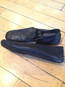 67b0c1be85c Image is loading TOD-S-Men-s-Black-Driving-Loafer-Shoes-
