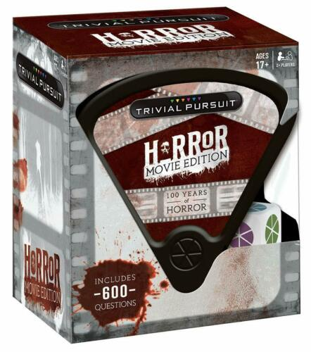 Horror Movie Edition SEALED UNOPENED FREE SHIPPING TRIVIAL PURSUIT