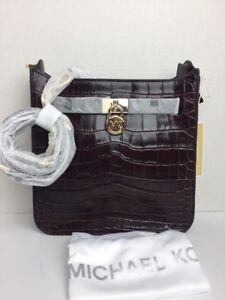0b7f01af1acca4 Image is loading NWT-Michael-Kors-Hamilton-Kors-Studio-Leather-Medium-