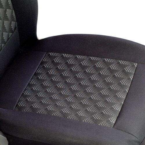 Efecto negro 3d fundas para asientos para Mercedes-Benz Clase B asiento de coche referencia completamente