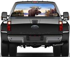 Moose Ver 2  Rear Window Graphic Decal Truck SUV Van Car
