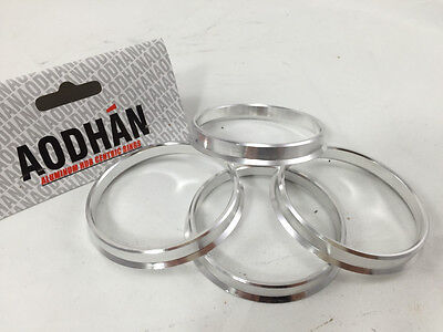 4 Aodhan Aluminum 73.1-66.1 Hub Centric Rings FITs Nissan Quest ALTIMA LEAF