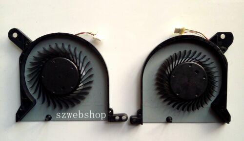 New for Dell Alienware 13 R1 R2 FGJ6 FGJ7 CPU /&GPU Cooling Fan set DFS481105F20T