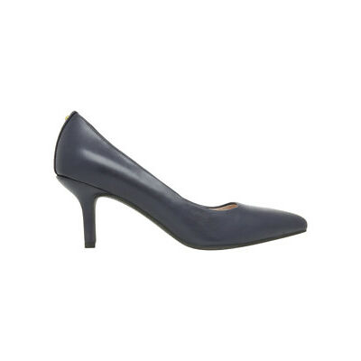 NEW Basque Elizabeth Wide Fit Navy Leather Shoe