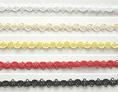 1m Dekoband, Borte, 1,5cm 15mm, weiß, schwarz, rot...