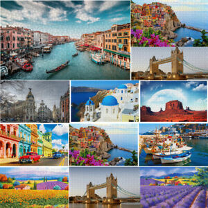 500-Piece-Childrens-Adults-Jigsaw-Puzzles-Educational-Toys-Game-Landscapes-Gift