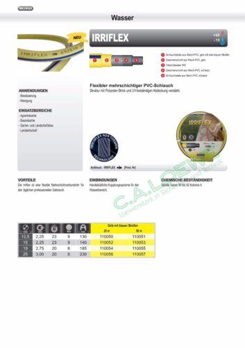 25°C Tricoflex beheizter Brauchwasserschlauch Irriflex Wasserschlauch GGMG