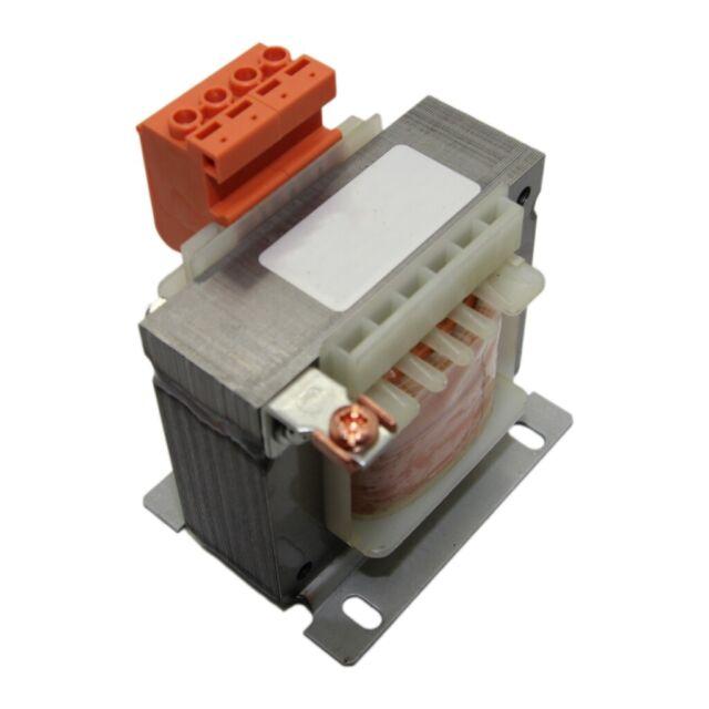 TMB60/12V Transformer mains 60VA 230VAC 12V Leads terminal block 1kg INDEL