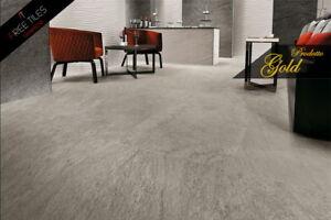 Pavimento Esterno Grigio : Pavimento piastrelle gres porcellant grigio pietra
