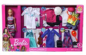 Dettagli su Barbie Dream carriera della moda ARMADIO Doll Dress Up Set con Bambola mostra il titolo originale