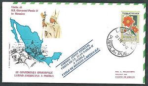 1979 Vaticano Viaggi Del Papa Messico Puebla - Rm1