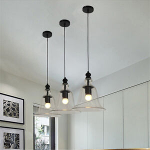 X Glass Pendant Light Bar Pendant Lighting Kitchen Lamp Bedroom - Kitchen pendant lighting ebay