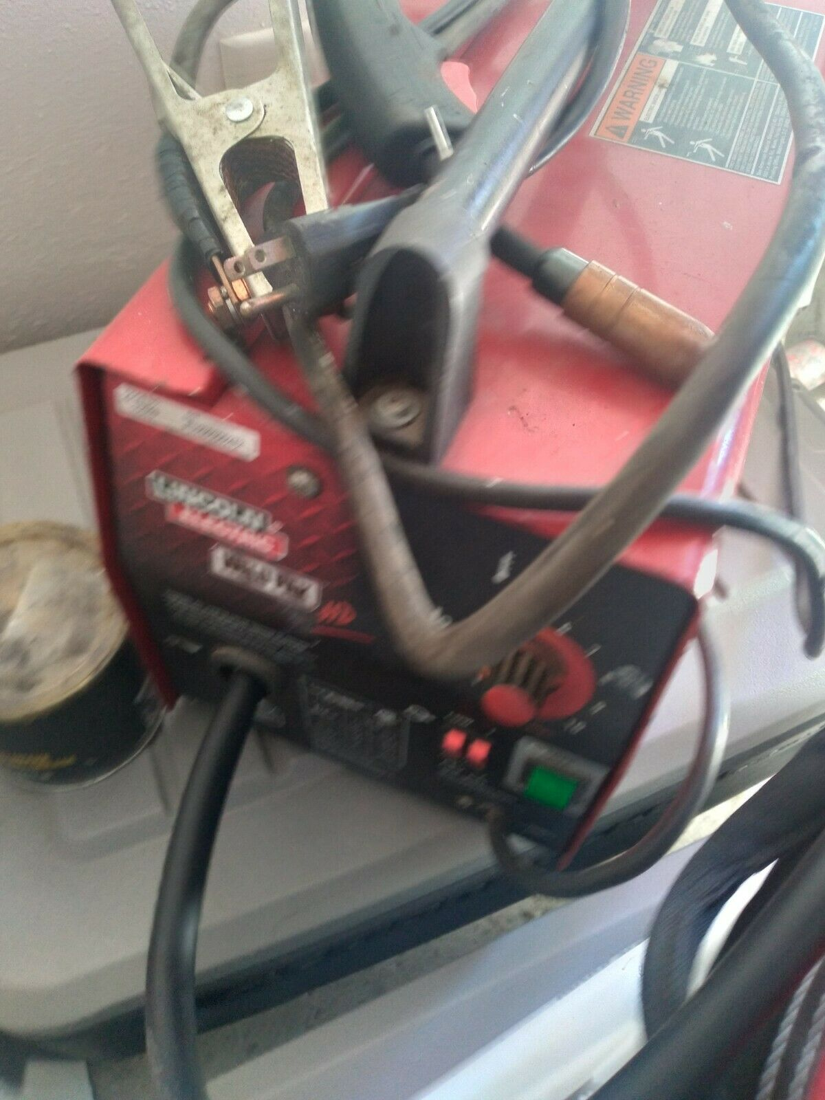 10949 golpe91 USED !! Lincoln Electric Weld Pak HD Mig Welder