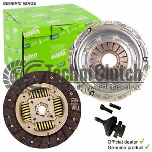 VALEO 2 PART CLUTCH KIT AND ALIGN TOOL FOR SAAB 9-3 CONVERTIBLE 1.8 T BIOPOWER