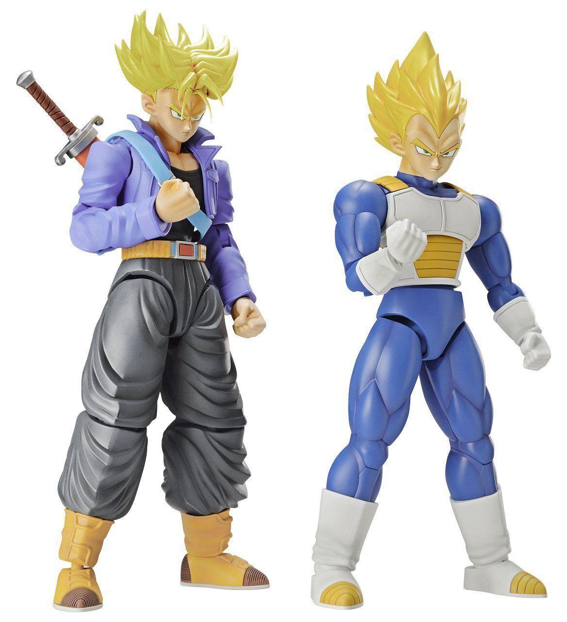 Figura subida Dragon Ball súper Saiyan troncos & súper Saiya Vegeta DX Set