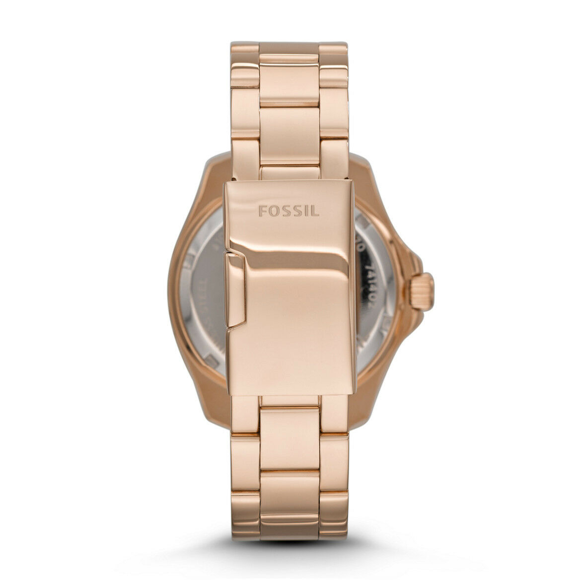 Womens Fossil Cecile Rose Dial Gold Steel Watch Am4569 Ebay Rg Norton Secured Powered By Verisign