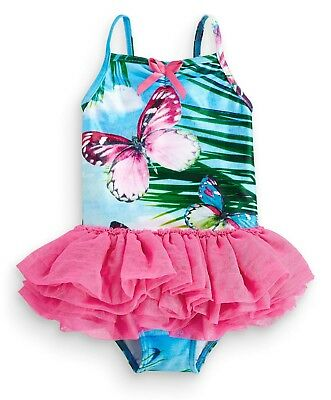 Sweet-Tempered ••• Вnwt Next Girls' Swimwear • Butterfly Swimsuit • Polyester • 6-9 Months Girls' Clothing (newborn-5t) Clothing, Shoes & Accessories