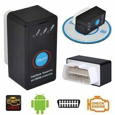 ELM327 V1.5 Bluetooth OBD2 Car code Reader with Power Switch Suit For Android