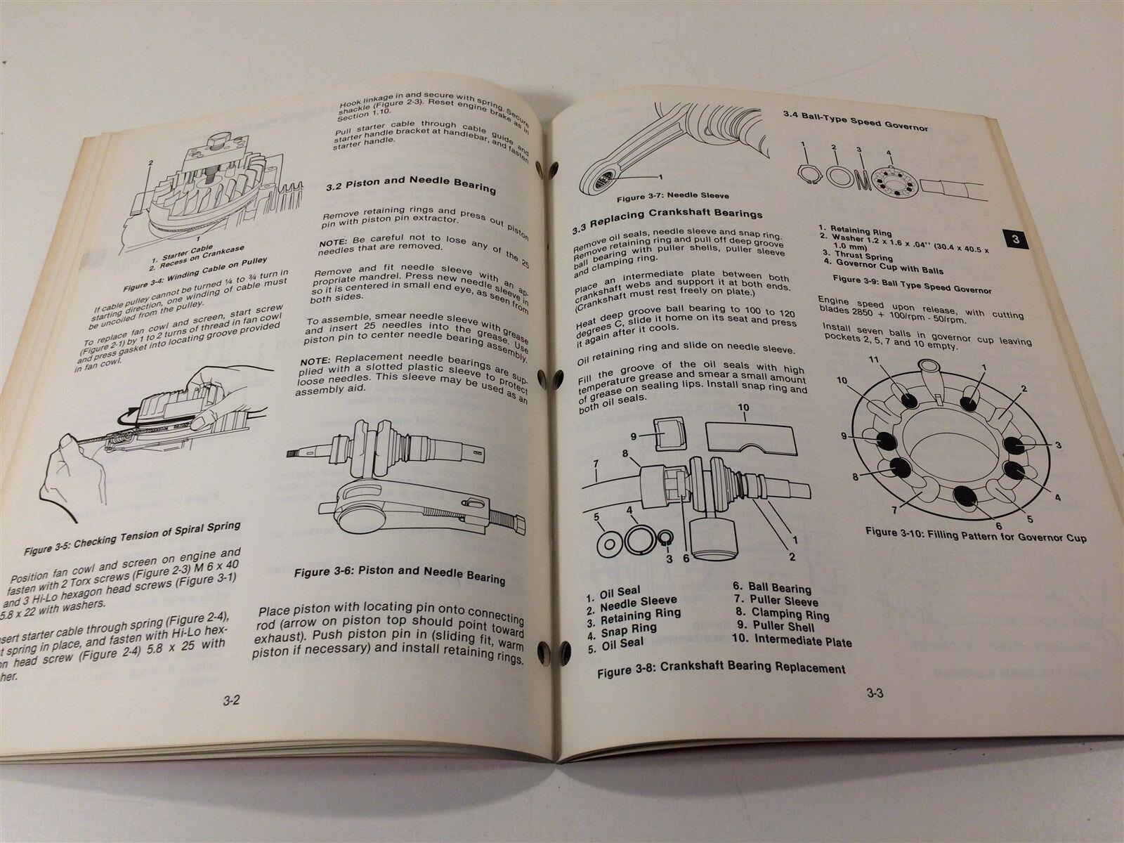 Ariens 911 Series Model SB 140 2 Cycle SACHS Engine Parts & Repair Manual  OEM   eBay