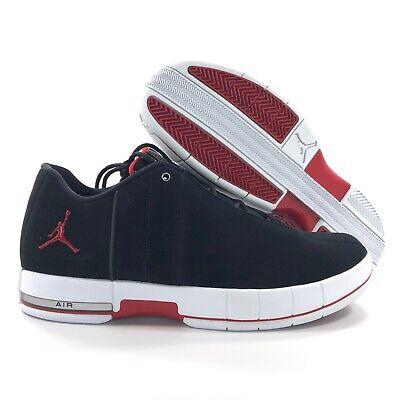 new style 1f1c5 e90c4 Nike Air Jordan TE 2 Low Black Gym Red White AO1696-001 Men's 9.5   eBay