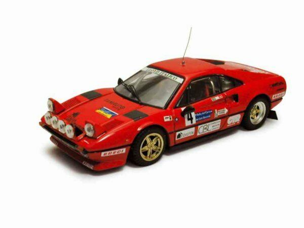 Ferrari 308 Gtb Rally Carso 1983 Cuccirelli   Muttini 1 43 Model BEST MODELS