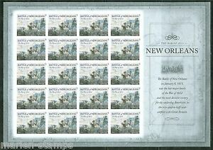 UNITED-STATES-2015-WAR-OF-1812-NEW-ORLEANS-IMPERFORATE-SHEET-OF-20-MINT