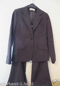 ANSEHEN-C-amp-A-HOSENANZUG-Gr-40-schwarz-Damen-Mode-Anzug-Kombination-Blazer-Hose