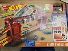 Hotwheels Pista constructor sistema Stunt puente Kit-DWW97