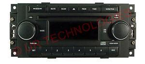 CHRYSLER-PN-5091518-OEM-FACTORY-AM-FM-CD