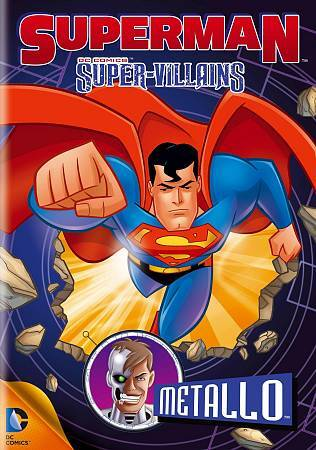 Superman Super-Villains: Metallo (DVD, 2013)  Brand New & Ships FREE!  DC Comics