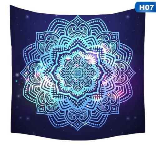 Mandala Hippie Tapisserie Wandbehang Wandteppich Psychedelic Tagesdecke Deko Neu