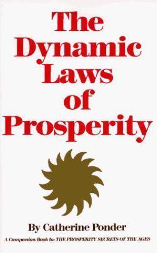 Dynamic Laws of Prosperity by Ponder, Catherine