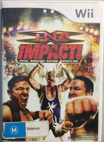 1 of 1 - TNA IMPACT Total Nonstop Action Wrestling (VERY GOOD COND) Game Nintendo Wii