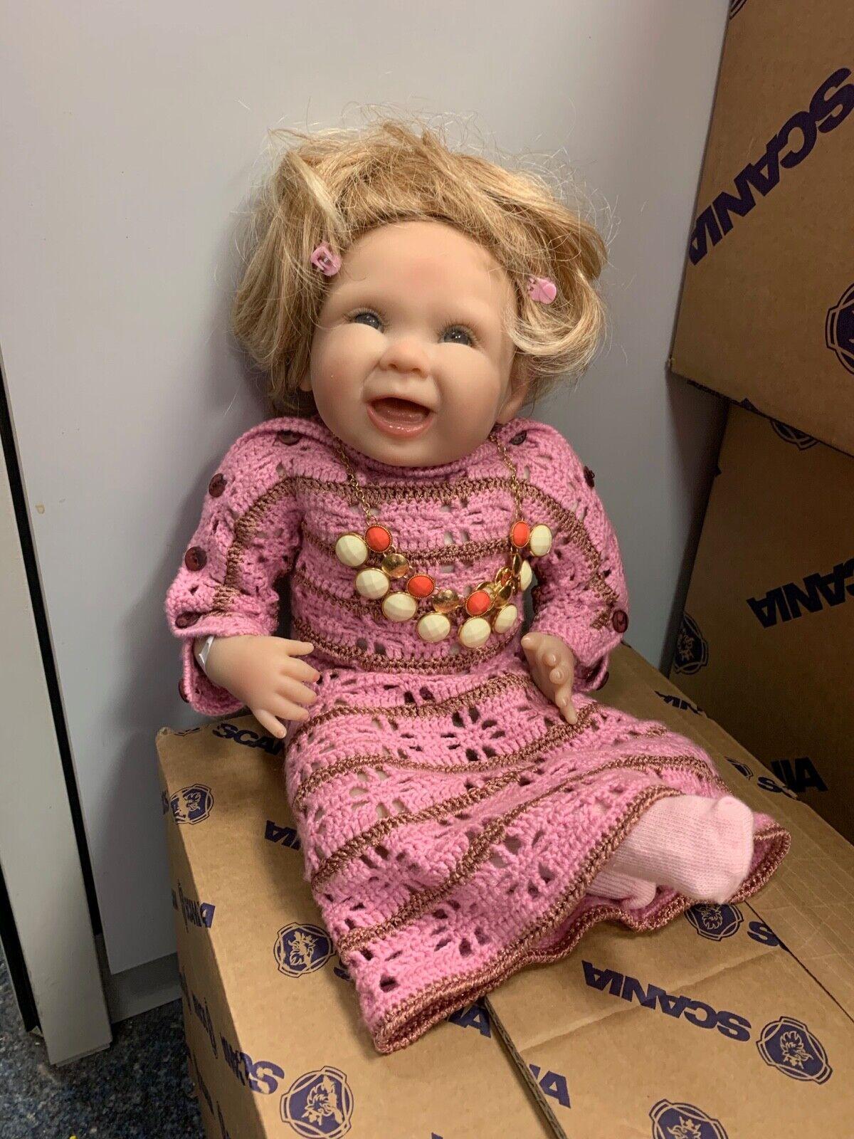 Bonnie chyle vinilo muñeca 46 cm. top estado