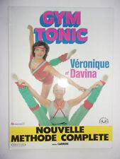 GYM TONIC VERONIQUE ET DAVINA NOUVELLE METHODE COMPLETE 1983