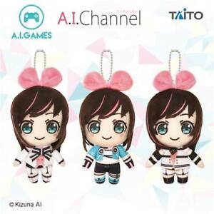 taito Kara-age Kun mascot stuffed Soft plush 15cm 3set japanese limited kawaii