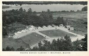 Brilliant Details About An Aerial View Of The White House Cabins Hwy 2 Milford Maine Me Download Free Architecture Designs Scobabritishbridgeorg