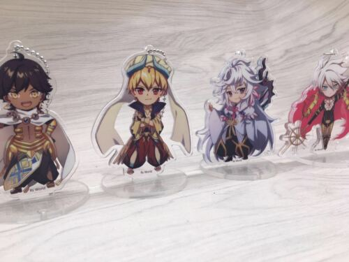T587 Hot Anime Fate//Grand Order Acrylic Keychain Key Ring Race Straps cosplay