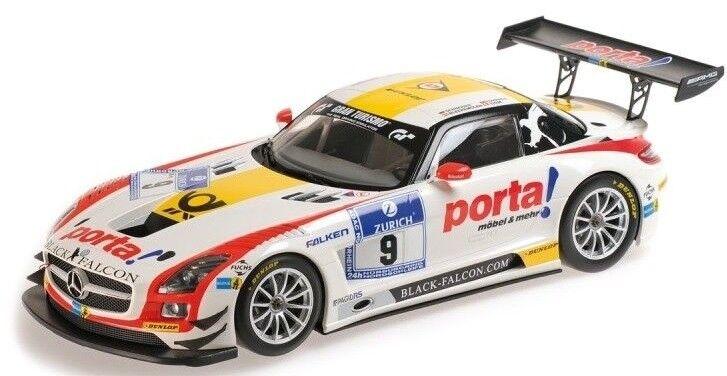 MNC151133109 - Voiture de courses MERCEDES SLS AMG des 24h de Nurburgring 2013 é