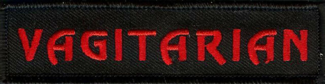 Vagitarian Embroidered Patch Muff Diver Rug Muncher D.I.L.L.I.G.A.F