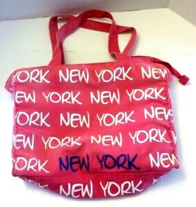 Robin-Ruth-Original-New-York-Pink-Tote-Hand-Bag-Purse