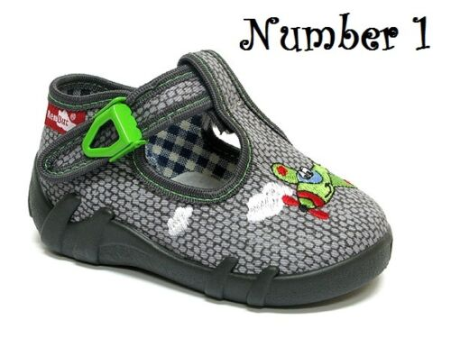 sandals trainers NEW slippers RENBUT Antibacterial boys canvas shoes