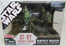 Star Wars ROTS Battle Packs AT-RT Assault Squad Playset NIB Target Exclusive