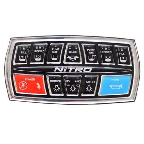 Nitro Boat Dash Keypad Assembly 176694w// Fuse Block 2015 ZV21