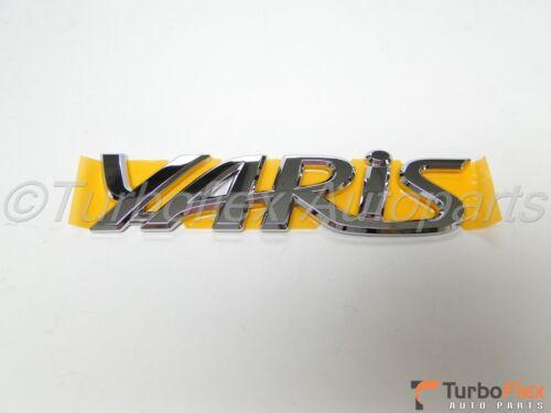 Toyota Yaris 3D//5D 2006-2011  YARIS Trunk Emblem Genuine OEM    75442-52210